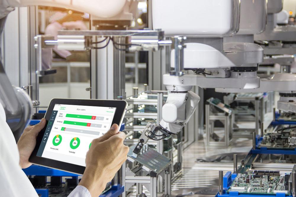 Improve efficiency production line