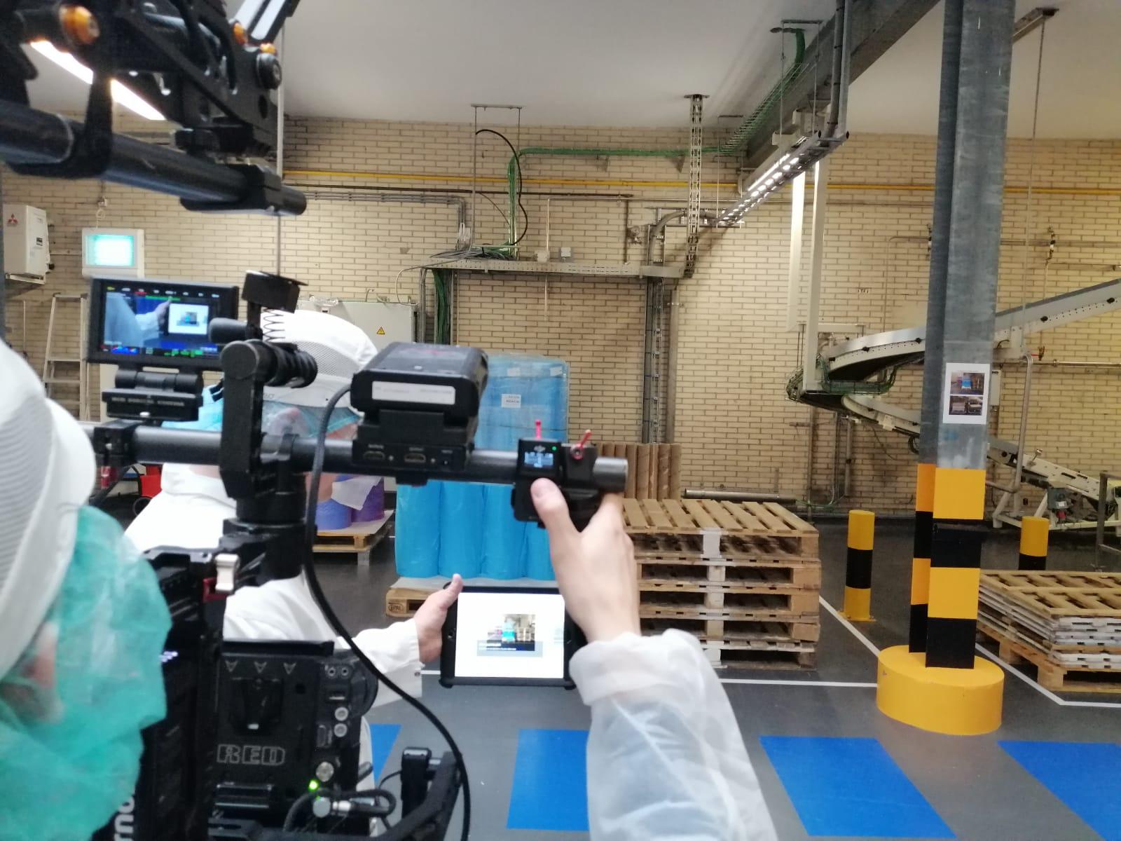 Shoot company video EZ Factory