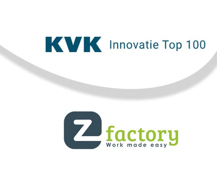 KVK Innovatie Top 100 deelname EZ Factory