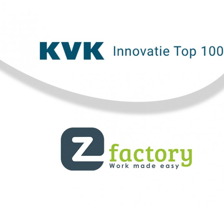 KVK Innovatie Top 100 deelname EZ Factory