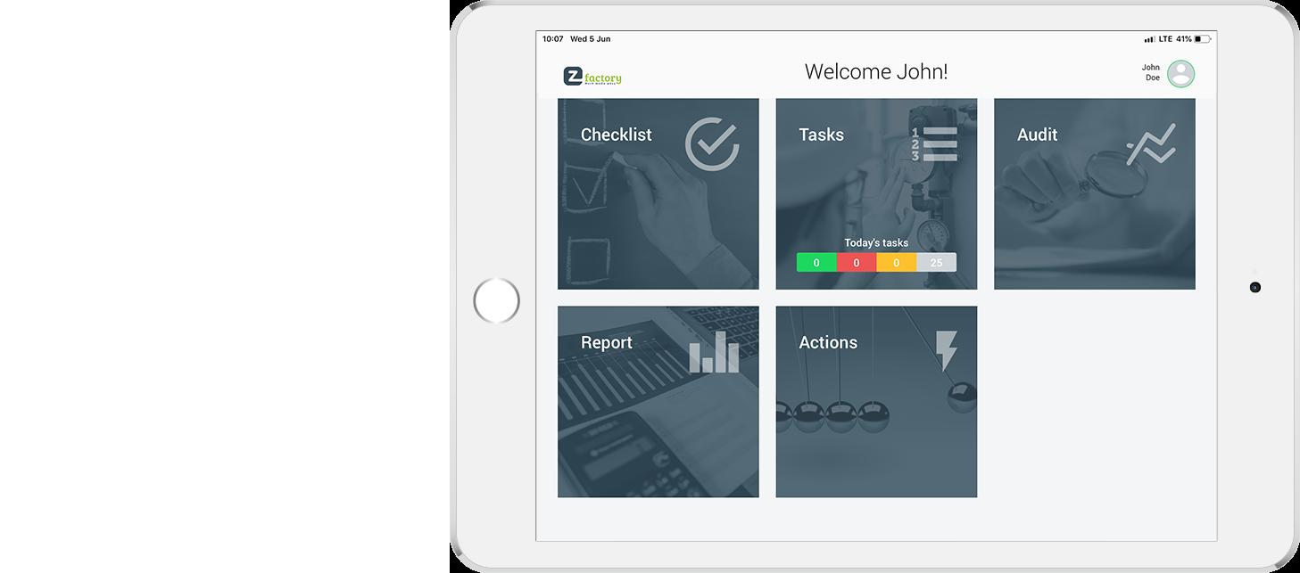 EZ-GO app continuous improvement and autonomous maintenance tool
